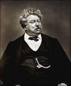 Alexandre Dumas, a túlterhelt sztáríró; forrás: wikipedia