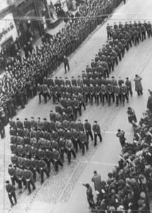 Codreanu temetése (forrás: wikipedia)