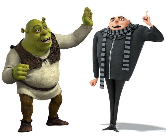Shrek Gru