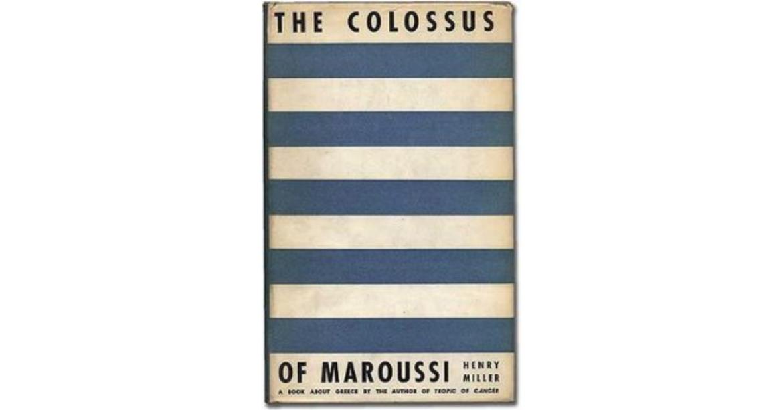 Colossus-of-Maroussi-Könyv-Guru
