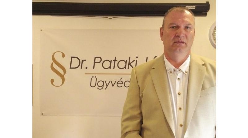 Dr. Pataki János ügyvéd, szakjogász
