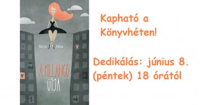 Már rendelhető Kun Mia A pillangó útja című könyve